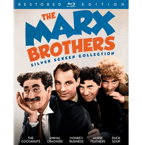 Marx Brothers Silver Screen Collectio (Blu-ray) - image 1 of 1