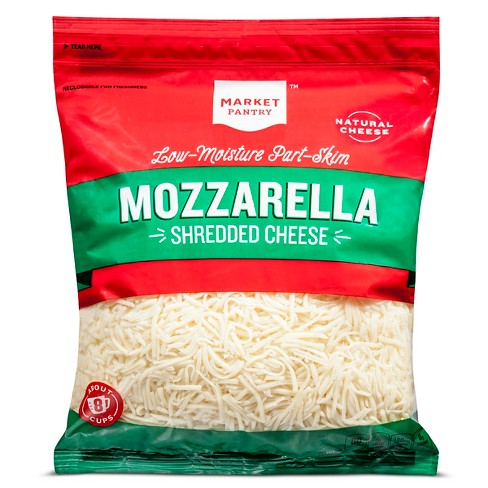 Shredded Mozzarella Cheese - 32oz - Market Pantry™ - image 1 of 1