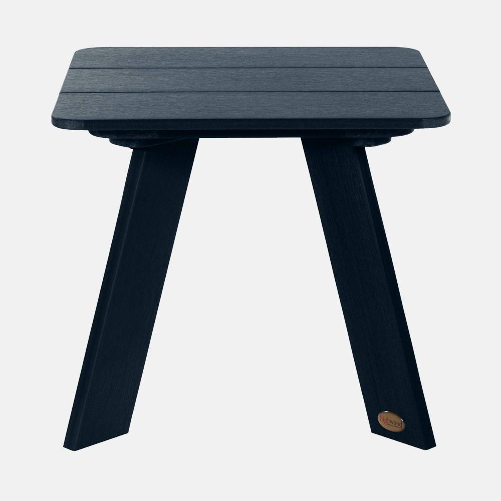 Image of Barcelona Modern Patio Side Table Federal Blue - highwood