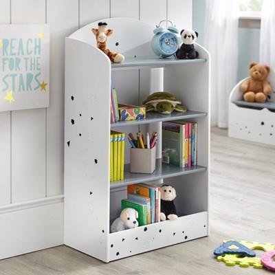 Talori Kids' Bookshelf Gray/White - Buylateral
