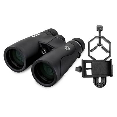 Celestron Nature DX 10x50 ED Binoculars with Basic Smartphone Adapter