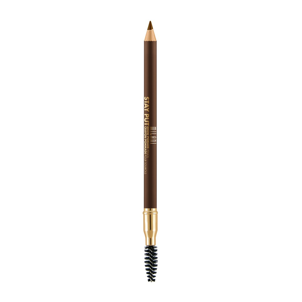 Milani Stay Put Brow Pomade Pencil 03 Medium Brown - 0.04oz