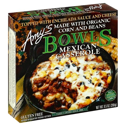 Amy's Mexican Casserole Frozen Bowl - 9.5oz - image 1 of 4