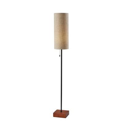 Trudy Floor Lamp Black - Adesso