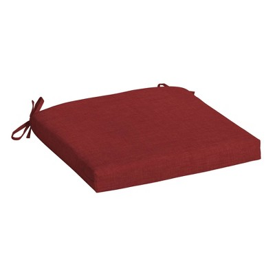 """Arden Selections 18"""" x 19"""" Leala Texture Outdoor Seat Pad"""