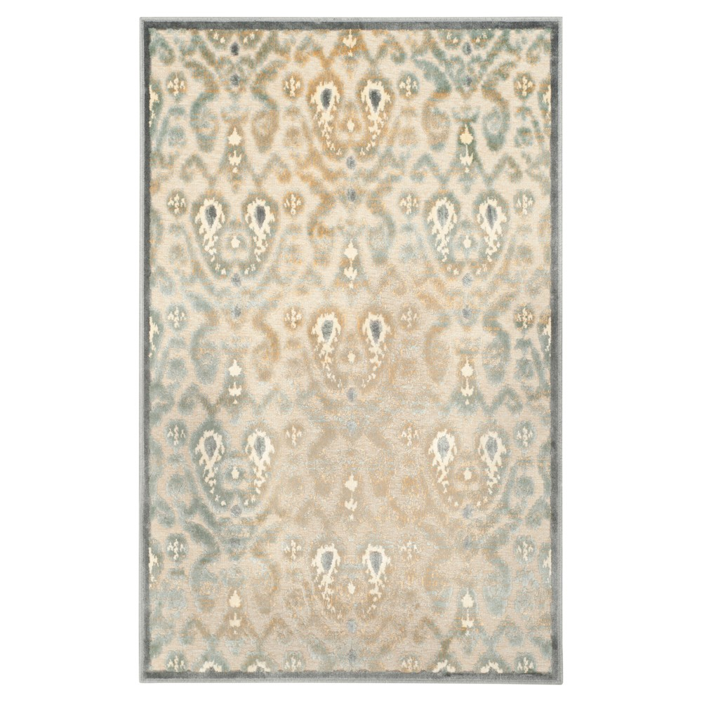Nelson Accent Rug - Gray / Multi ( 3' 3