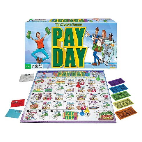 Pay Day Classic Edition Board Game - image 1 of 1