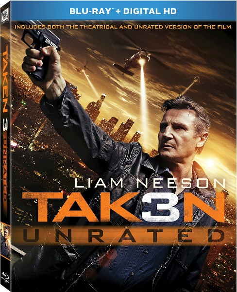 Taken 3 (Includes Digital Copy) (Blu-ray) - image 1 of 1