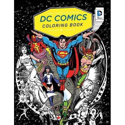 - DC Comics Coloring Book - (Paperback) : Target