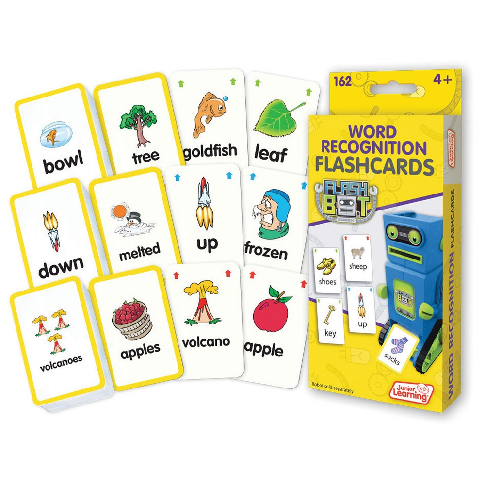 Image of Junior Learning Reading Flashcards - Word Recognition