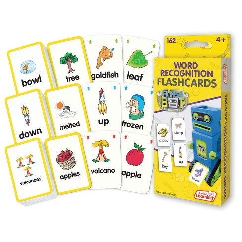 Junior Learning Reading Flashcards - Word Recognition