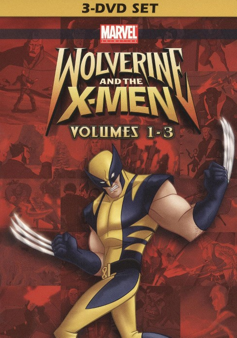 Wolverine and the x-men vol 1-3 (DVD) - image 1 of 1
