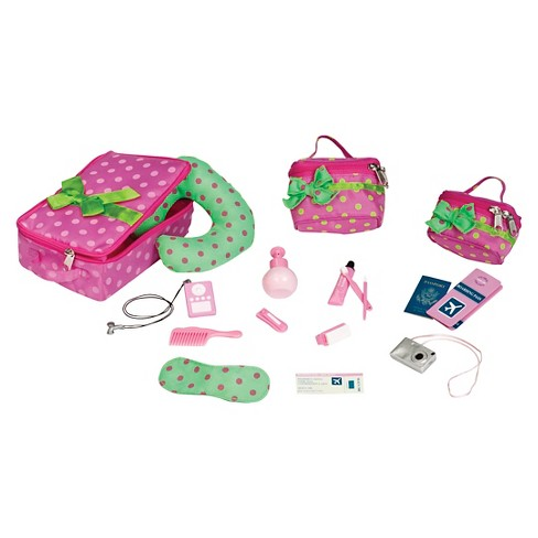 2a9665b970 Our Generation® Travel Luggage And Accessory Set : Target