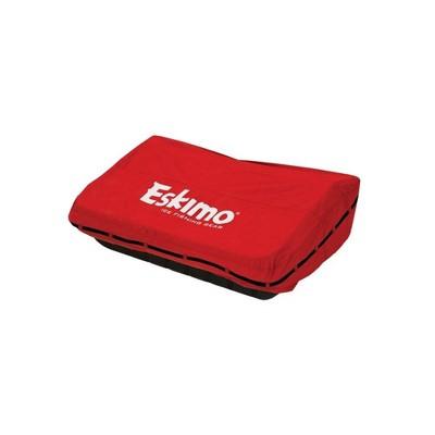 Eskimo 60 Inch Sierra Ice Fishing Shelter 300 Denier Durable Travel Cover, Red
