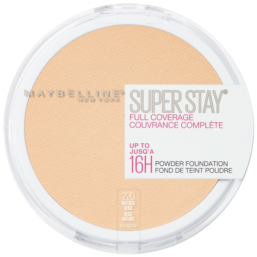 Maybelline Superstay Powder Foundation 220 Natural Beige - 0.18oz