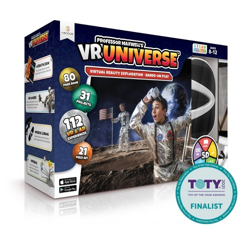 Abacus Professor Maxwell's VR Universe Virtual Reality Learning System Hardware - image 1 of 3
