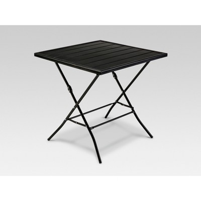 Standish Folding Patio Bistro Table Black - Project 62™