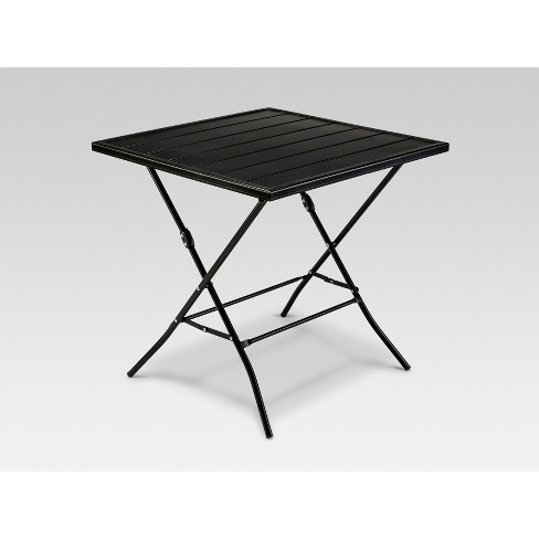 Wondrous Standish Folding Patio Bistro Table Black Project 62 Andrewgaddart Wooden Chair Designs For Living Room Andrewgaddartcom