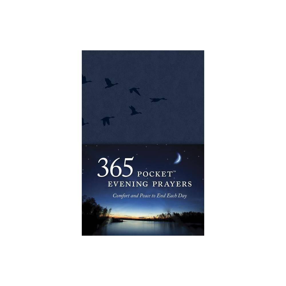 365 Pocket Evening Prayers By David R Veerman Leather Bound