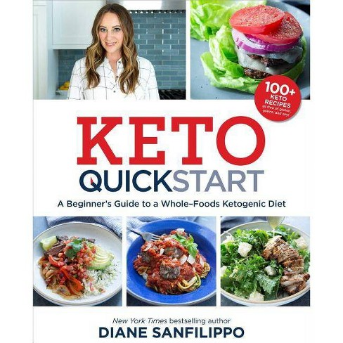 Keto Quick Start : A Beginner's Guide to a Whole-Foods Ketogenic Diet -  by Diane Sanfilippo (Paperback) - image 1 of 1