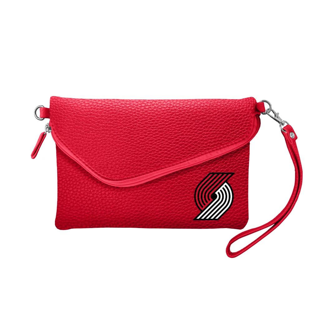 NBA Portland Trail Blazers Fold Over Pebble Crossbody Bag, Girl's