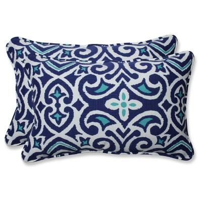Pillow Perfect Outdoor/Indoor Rectangular Throw Pillow Set of 2