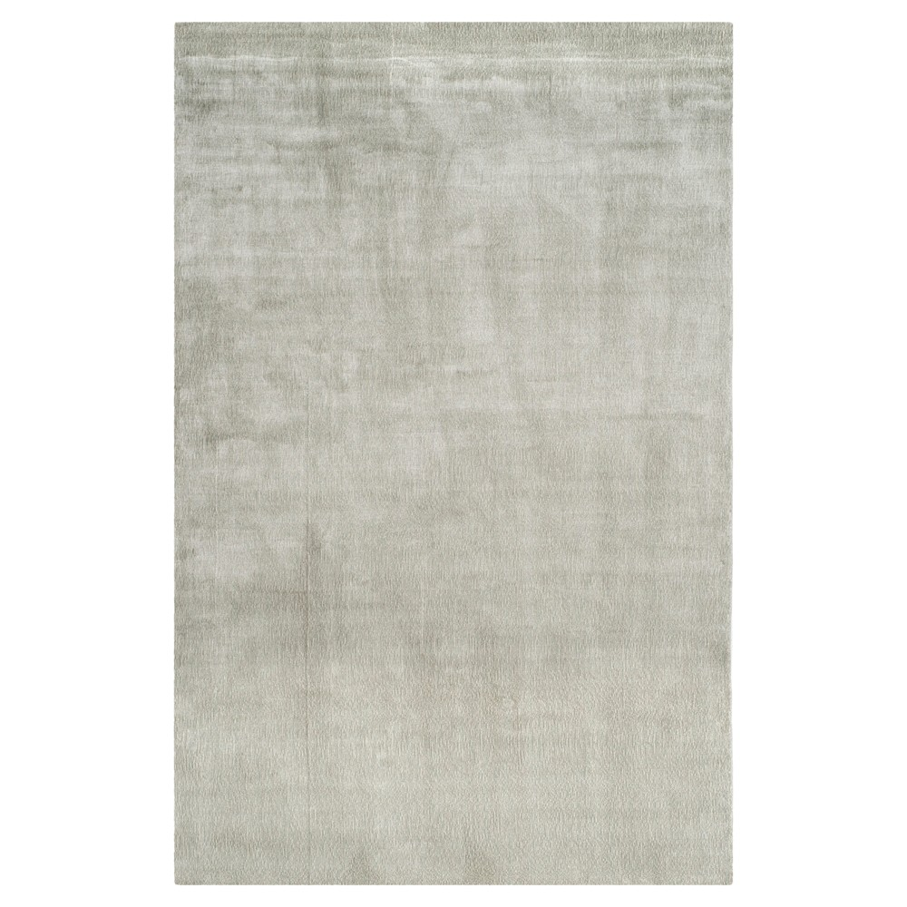Fog Solid Woven Area Rug - (6'x9') - Safavieh