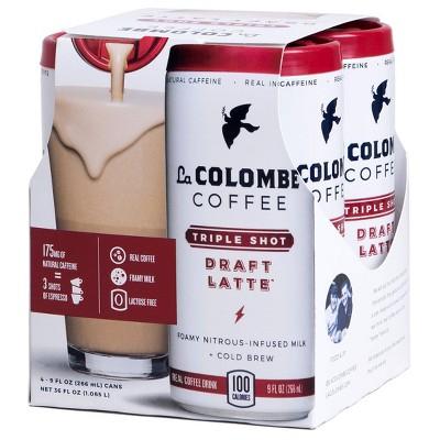 La Colombe Draft Latte Triple - 4pk/9 fl oz Cans