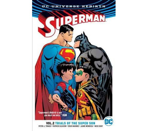 Superman 2 : Trials of the Super Son (Paperback) (Peter J. Tomasi & Patrick Gleason) - image 1 of 1