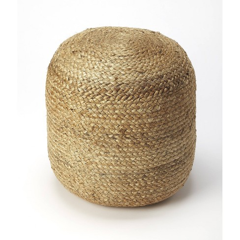 Noosa Jute Pouf Natural - Butler Specialty - image 1 of 3