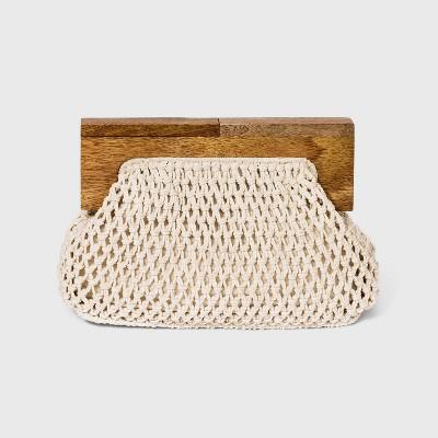 Women's Crochet Coin Purse - A New Day™