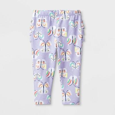 Baby Girls' Butterfly Leggings - Cat & Jack™ Purple 0-3M