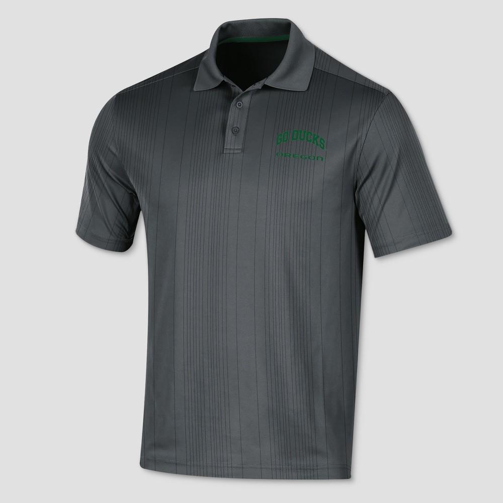 Oregon Ducks Men's Short Sleeve Game Day Polo Shirt L, Multicolored