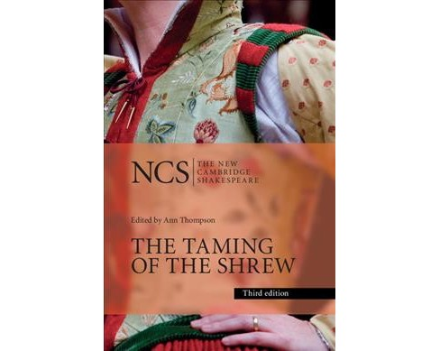 Taming of the Shrew -  (New Cambridge Shakespeare)  Book 2 by William Shakespeare (Paperback) - image 1 of 1