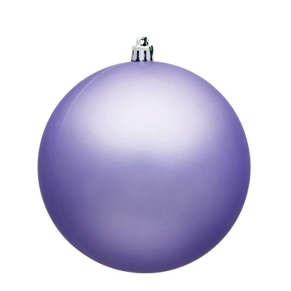 Vickerman 2.4/24ct Matte Ball Ornament UV Coated Lavender