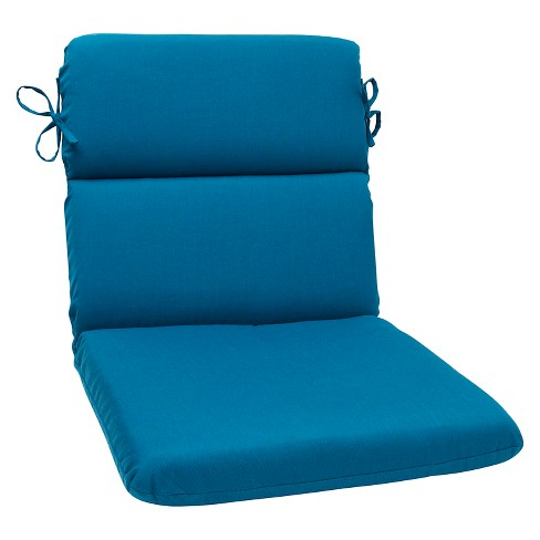Sunbrella® Spectrum Outdoor Rounded Edge Chair Cushion - Blue - image 1 of 1