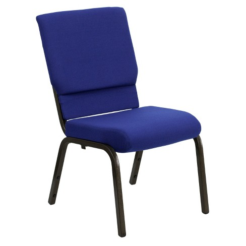 Riverstone Furniture Collection Fabric Church Chair Navy Blue - image 1 of 4