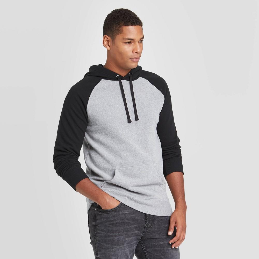 Promos Men's Colorblock Regular Fit Fleece Pullover Hoodie - Goodfellow & Co™