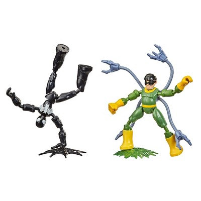 Marvel Spider-Man Bend and Flex Black Suit Spider-Man Vs. Doc Ock