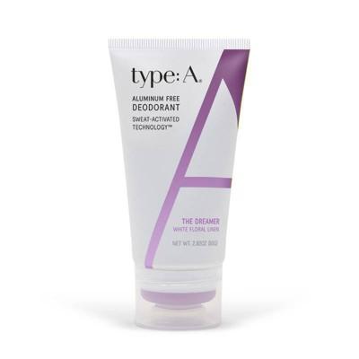 type:A White Floral Linen Deodorant - 2.82oz