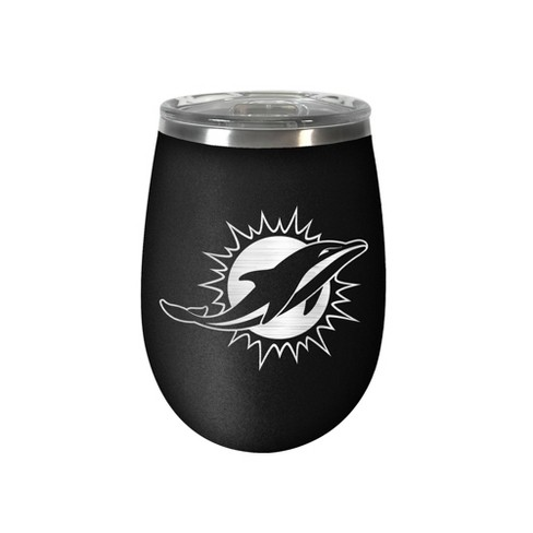 NFL Miami Dolphins Stealth Wine Tumbler - 12oz - image 1 of 1