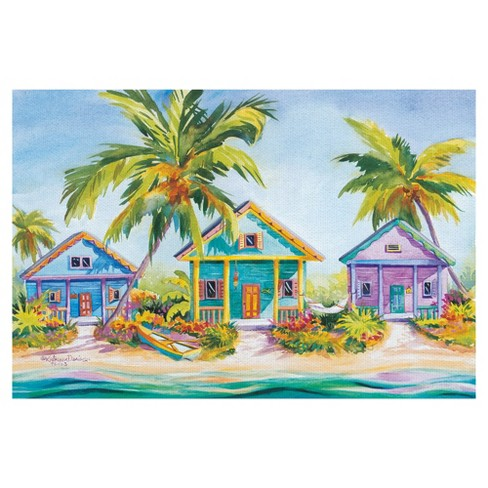 "24""x36"" Island Charm By Kathleen Denis Art On Canvas - Fine Art Canvas - image 1 of 4"