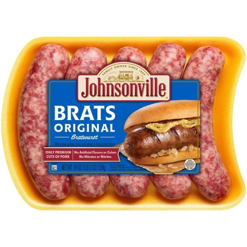 Johnsonville Original Bratwurst - 19oz/5ct - image 1 of 4