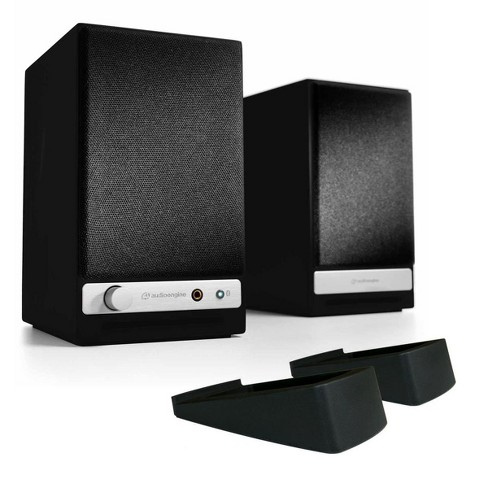Audioengine HD3 Wireless Powered Speakers with DS1 Desktop Speaker Stands - image 1 of 8