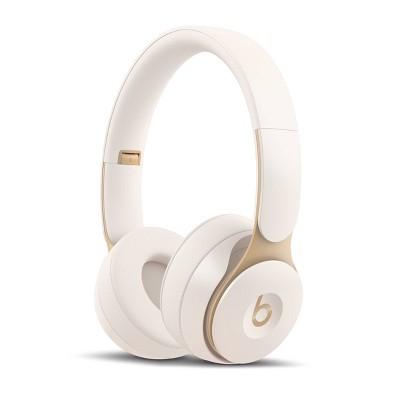 Beats Solo Pro On-Ear Wireless Headphones - Ivory