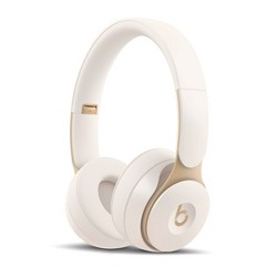Beats Solo Pro On-Ear Wireless Headphones - Ivory