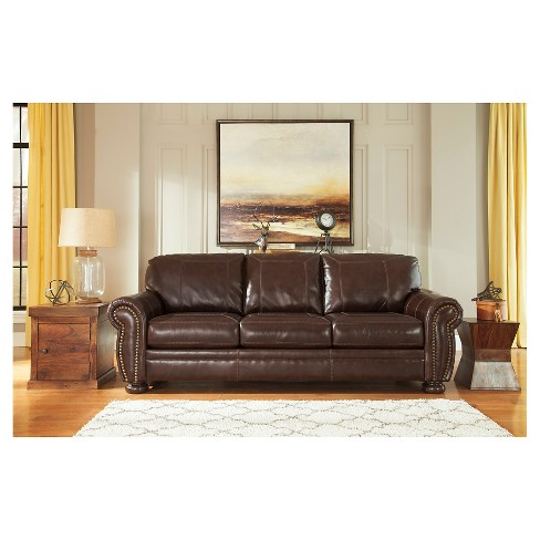 Banner Sofa Coffee - Signature Design By Ashley : Target