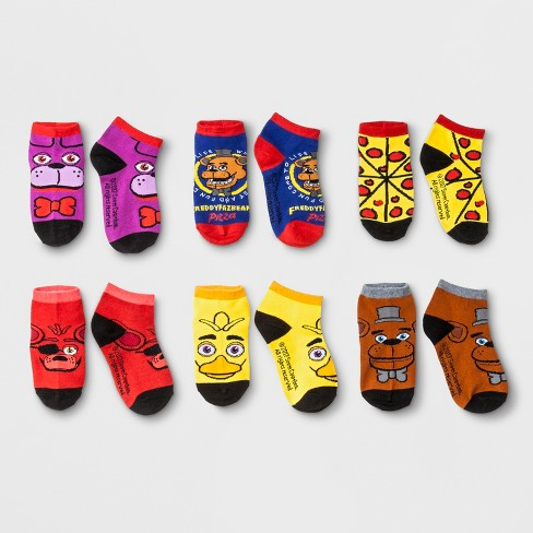 Kids' Five Nights at Freddy's Ankle Socks - image 1 of 1