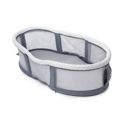 Baby Delight Snuggle Nest Peak - Portable Infant Bassinet - Gray