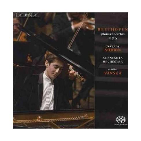 Beethoven: Piano Concerto No. 4 In G Major, Op. 58; Piano Concerto No. 5 In Eb Major, Op. 72 (CD) - image 1 of 1